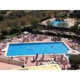 aquecedor solar em piscina