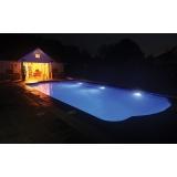 iluminação para piscinas Cidade Dutra