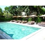 manutenção para piscina em casa