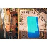 manutenção de filtro de piscina
